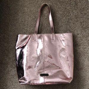 Betsy Johnson rose gold purse